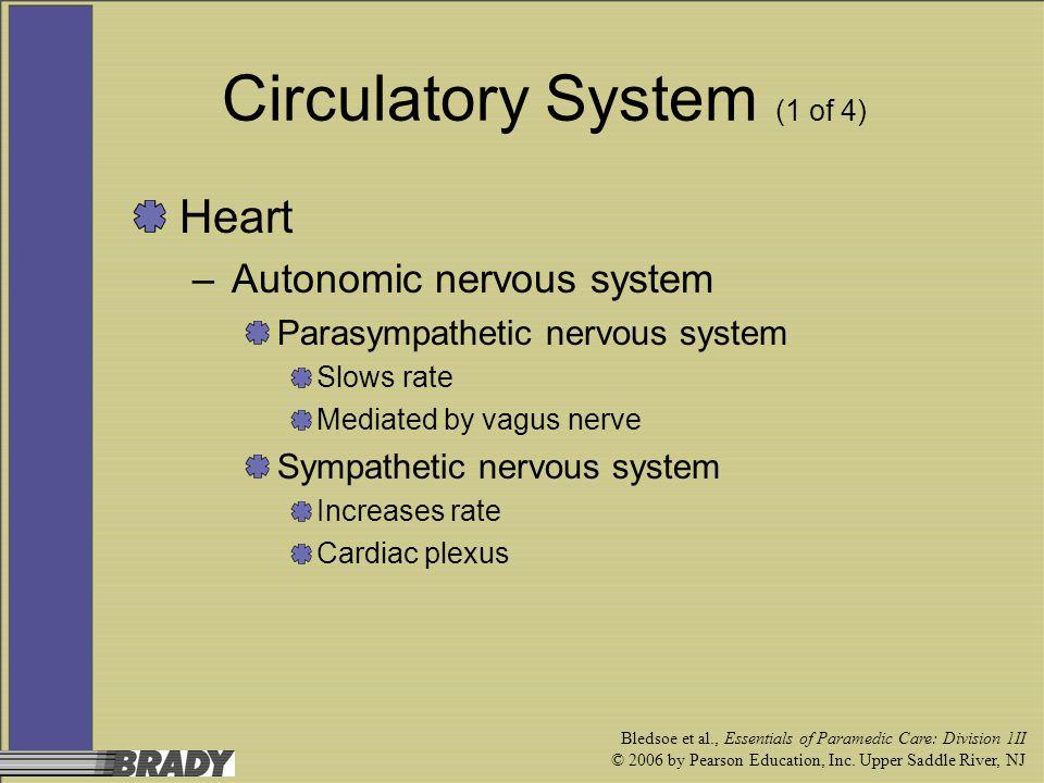 Circulatory System (1 of 4)