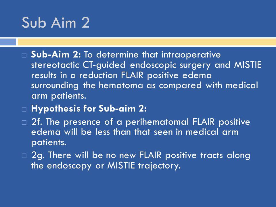 Sub Aim 2