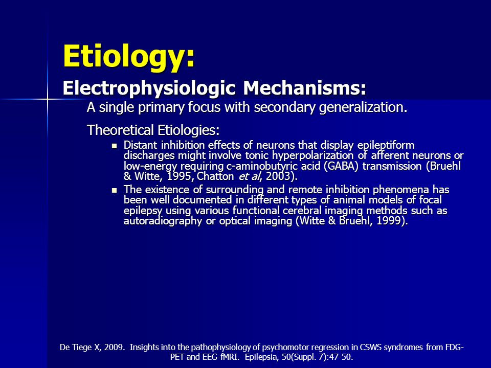 Etiology: Electrophysiologic Mechanisms: