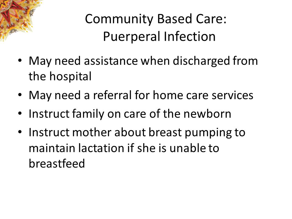 Community Based Care: Puerperal Infection