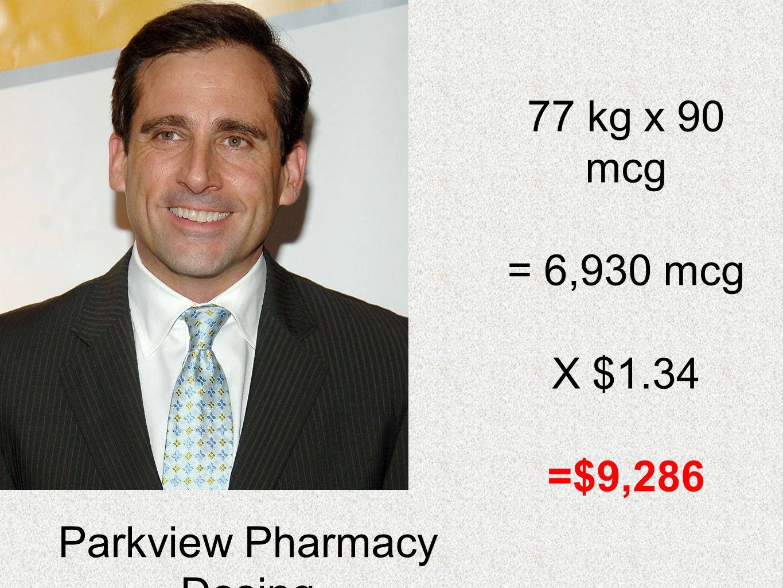 Parkview Pharmacy Dosing