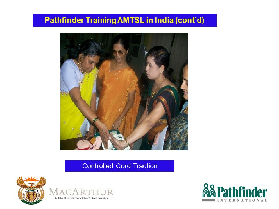 Pathfinder Training AMTSL in India (cont'd)