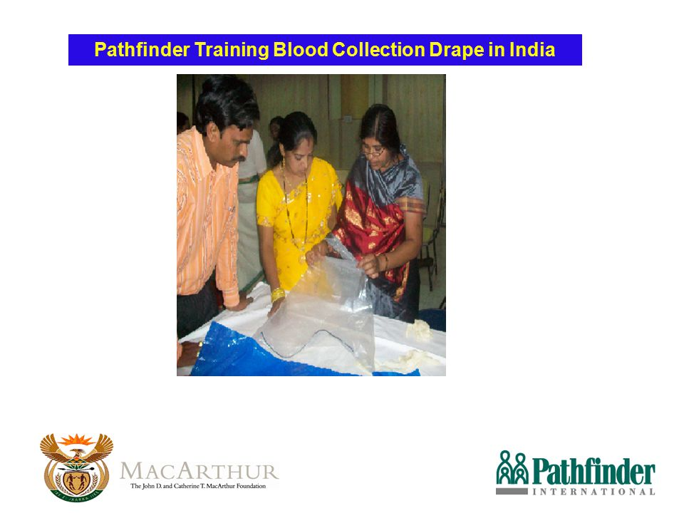 Pathfinder Training Blood Collection Drape in India