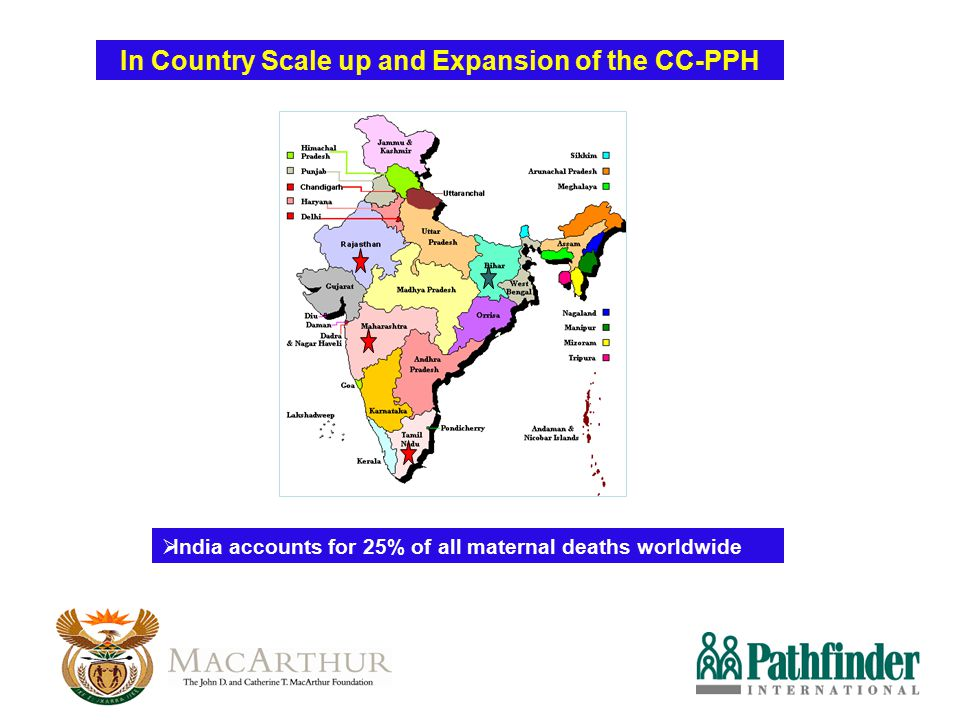 In Country Scale up and Expansion of the CC-PPH