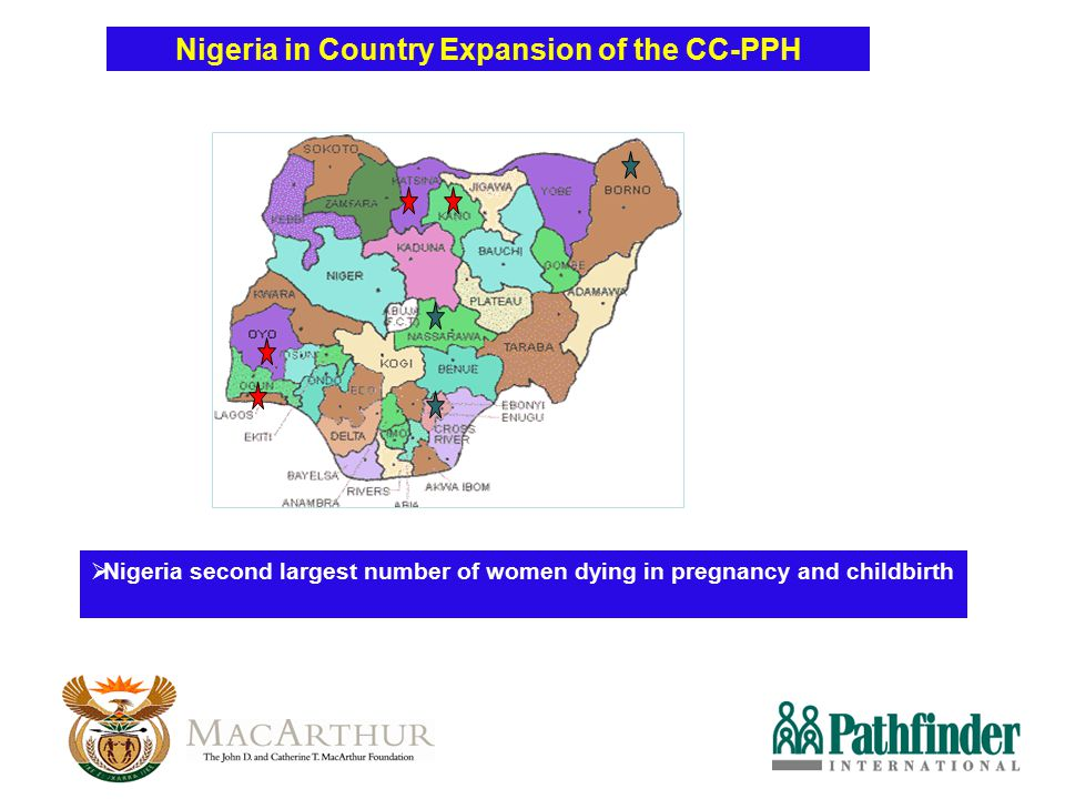 Nigeria in Country Expansion of the CC-PPH