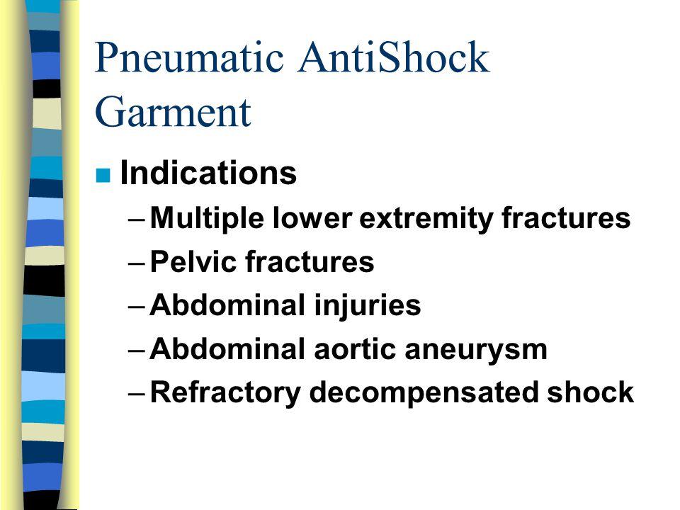 Pneumatic AntiShock Garment