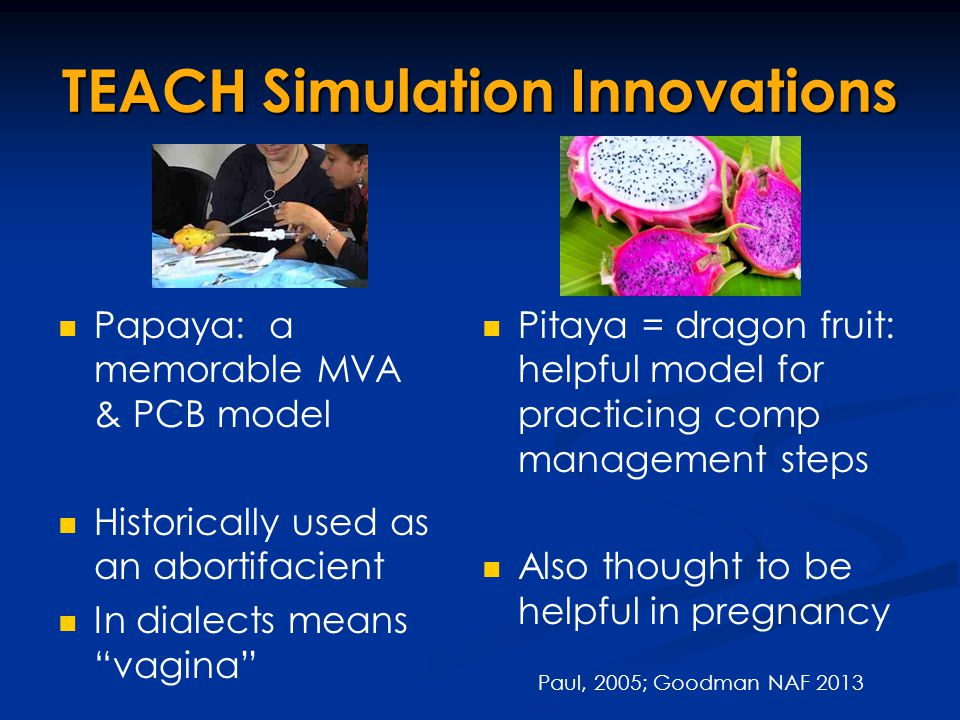 TEACH Simulation Innovations