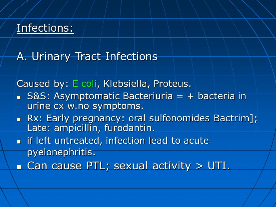 A. Urinary Tract Infections