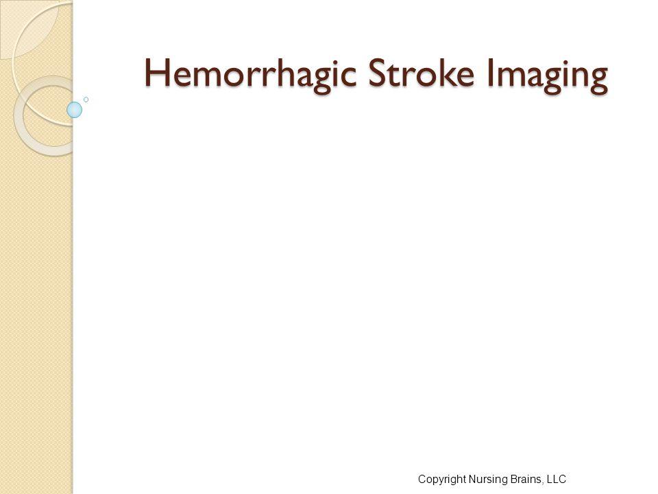 Hemorrhagic Stroke Imaging