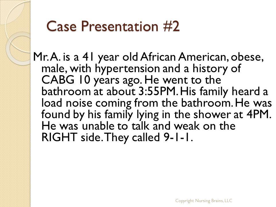 Case Presentation #2