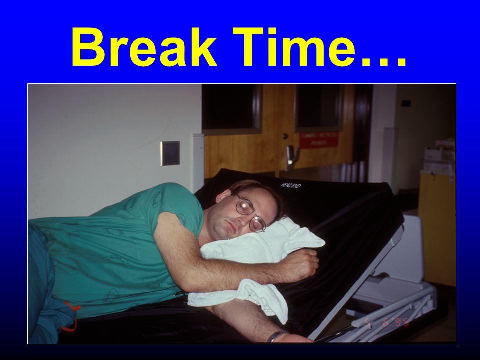 Break Time…
