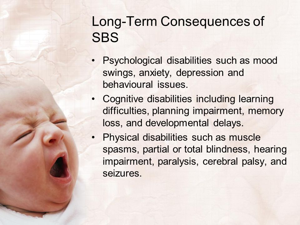 Long-Term Consequences of SBS
