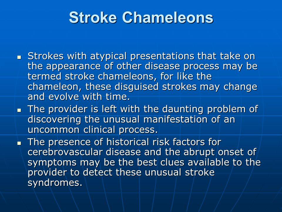 Stroke Chameleons
