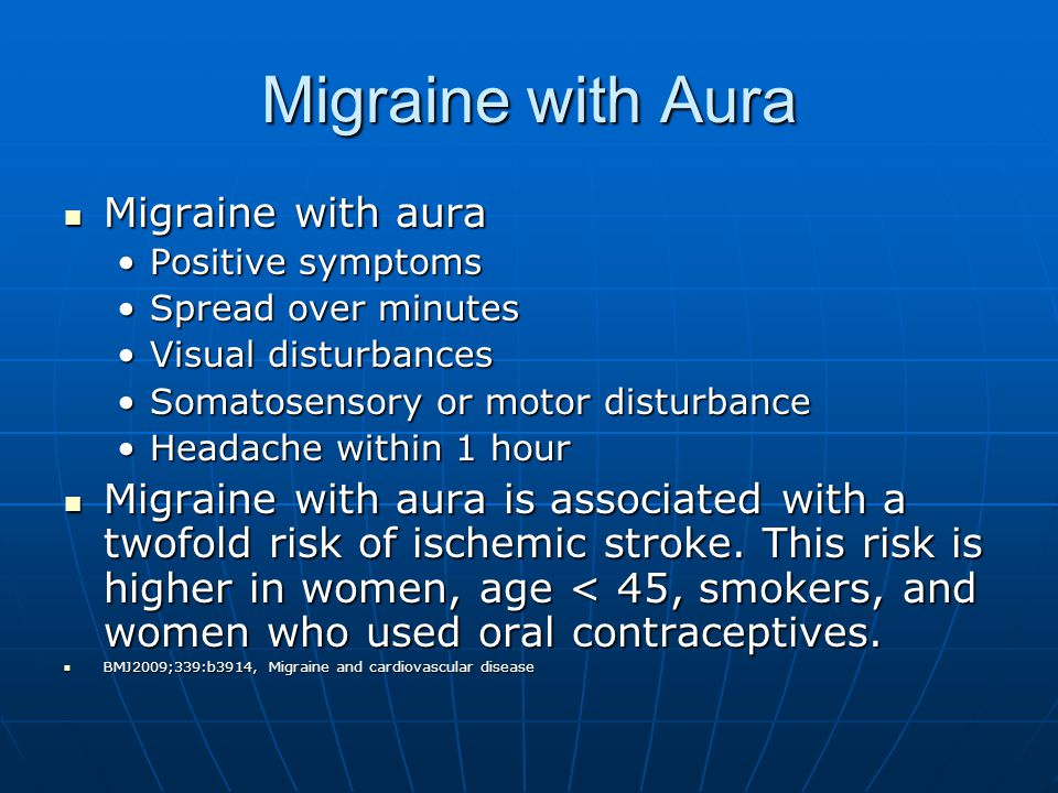 Migraine with Aura Migraine with aura