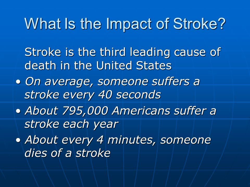What Is the Impact of Stroke