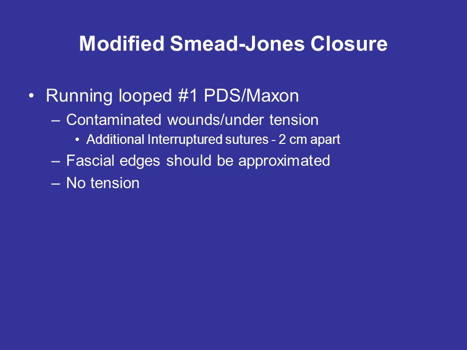 Modified Smead-Jones Closure