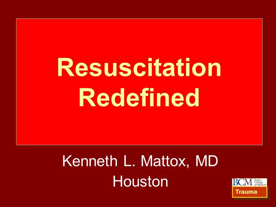 Resuscitation Redefined