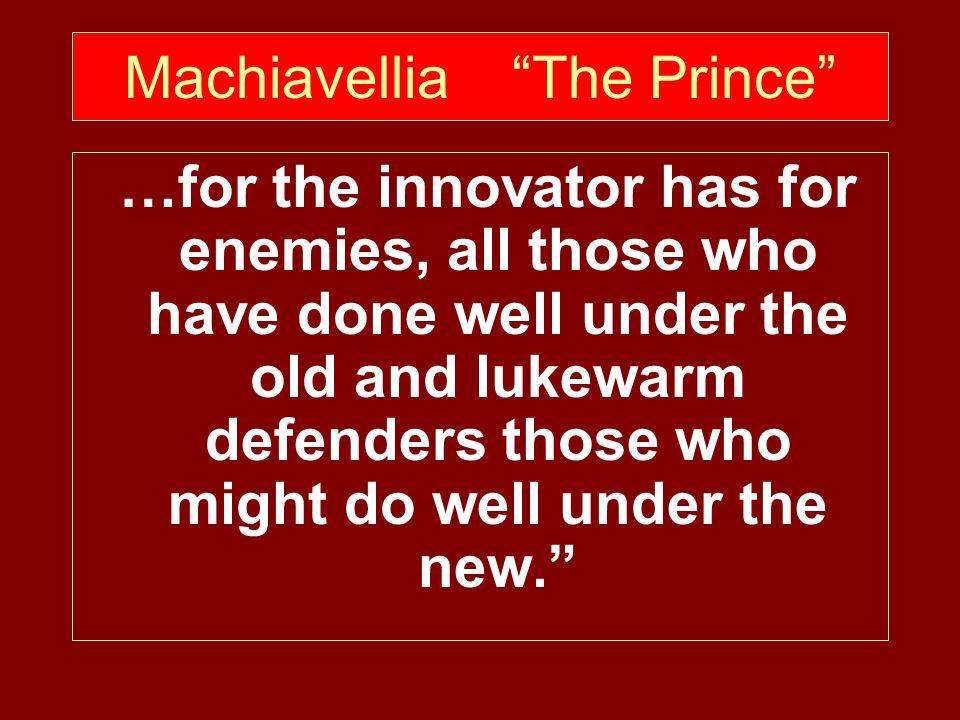 Machiavellia The Prince