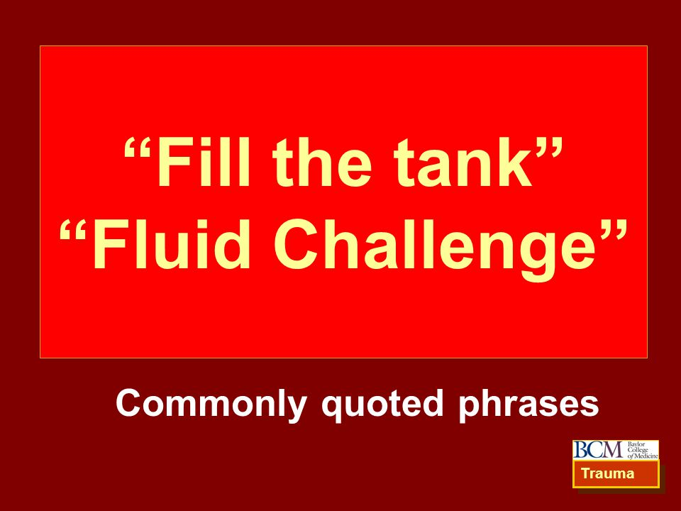 Fill the tank Fluid Challenge