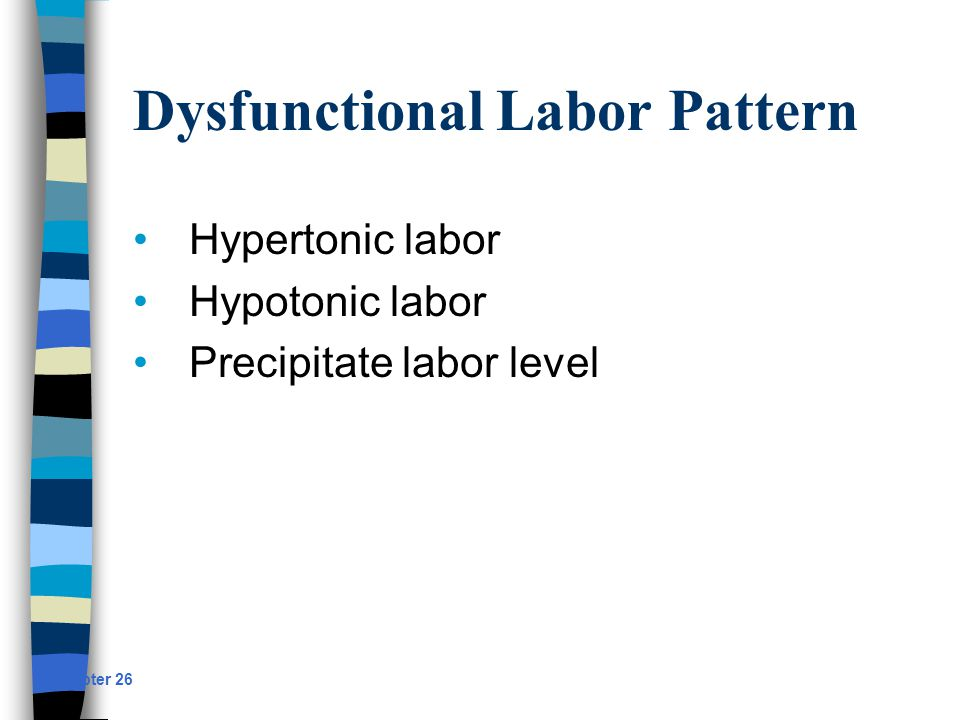 Dysfunctional Labor Pattern