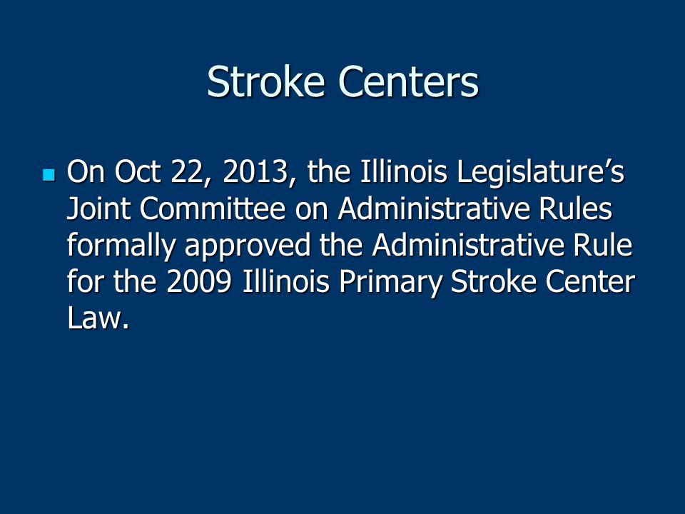 Stroke Centers