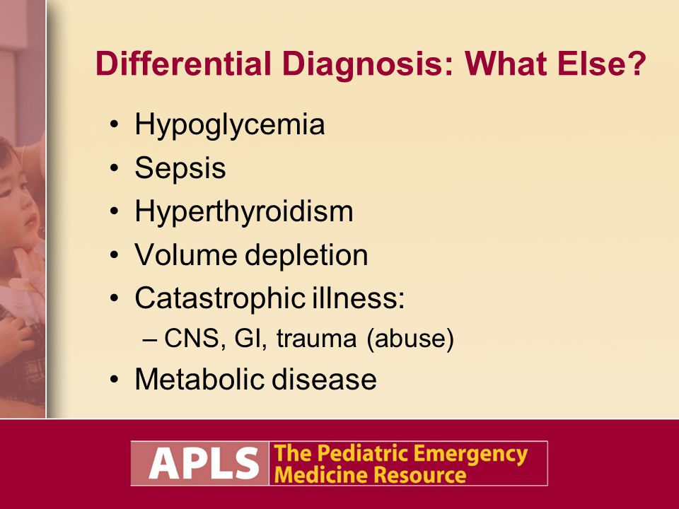 Differential Diagnosis: What Else