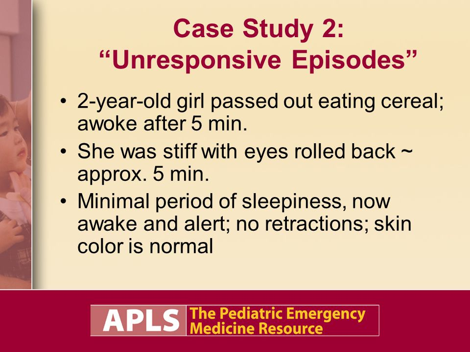 Case Study 2: Unresponsive Episodes