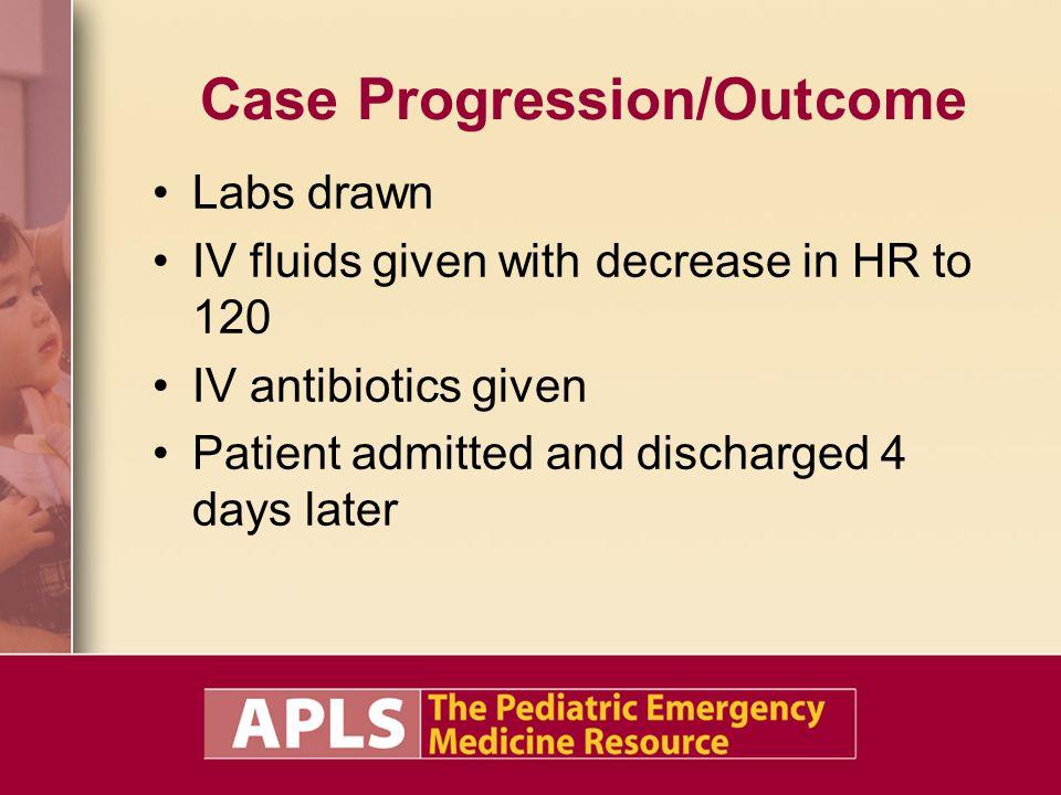 Case Progression/Outcome