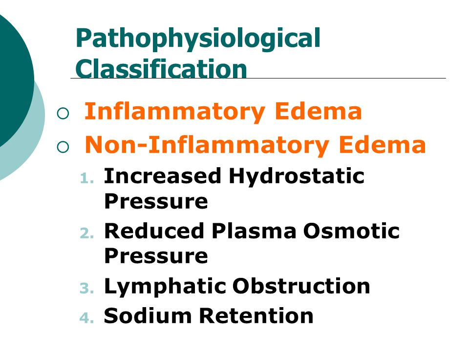 Pathophysiological Classification