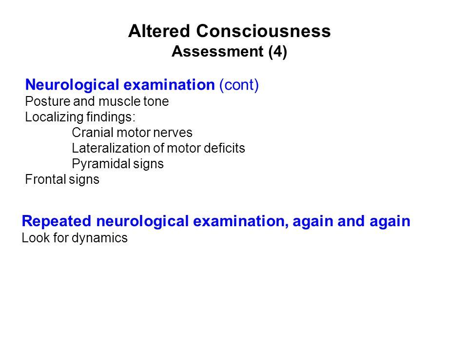 Altered Consciousness