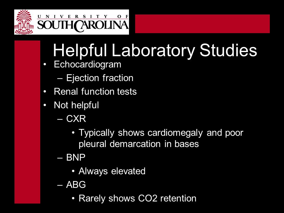 Helpful Laboratory Studies