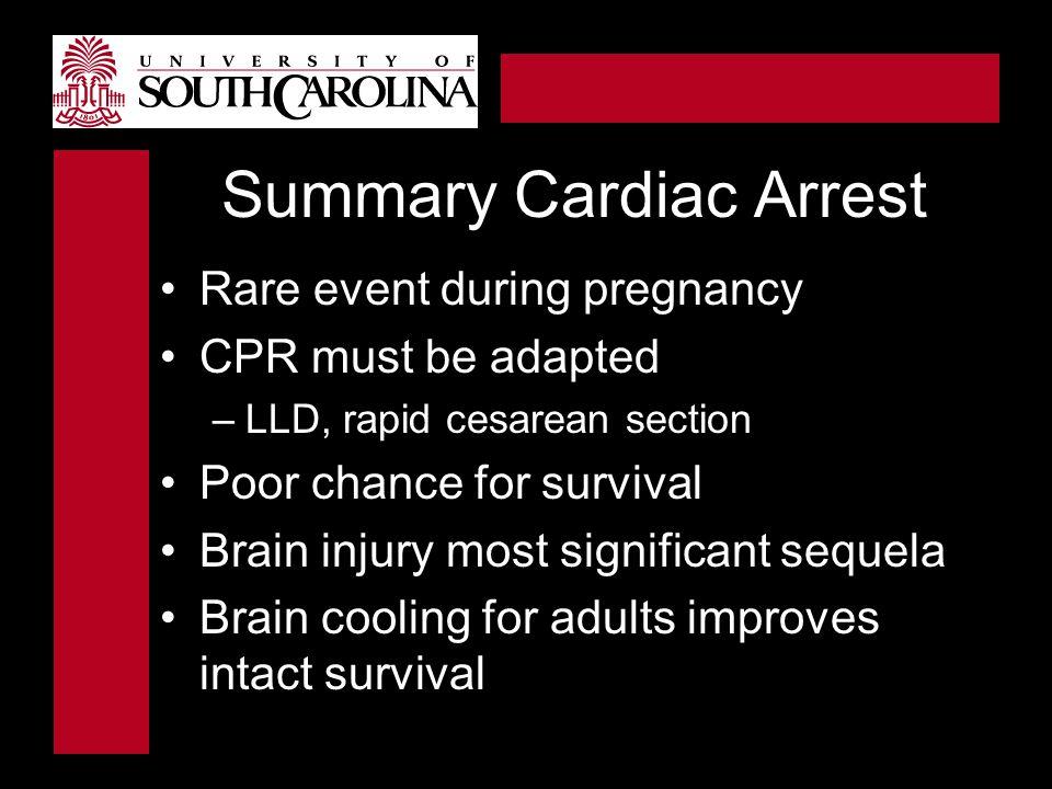 Summary Cardiac Arrest