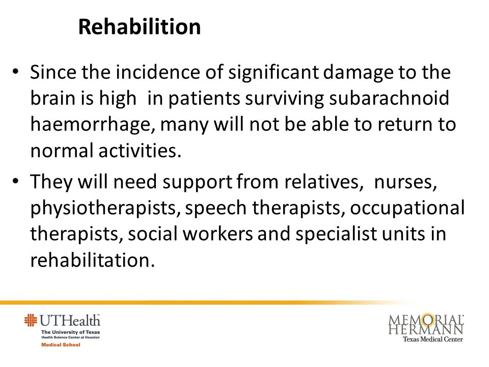 Rehabilition