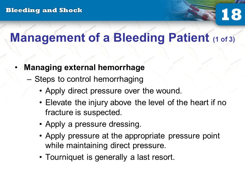 Management of a Bleeding Patient (2 of 3)