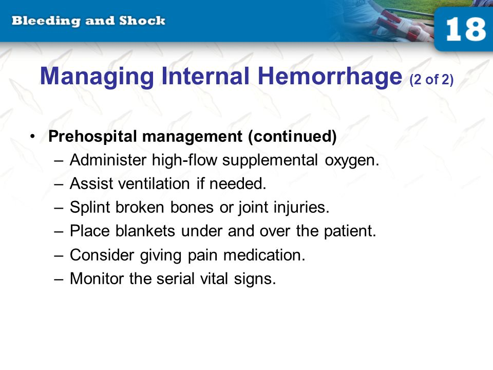 Transportation of Patients With Hemorrhage