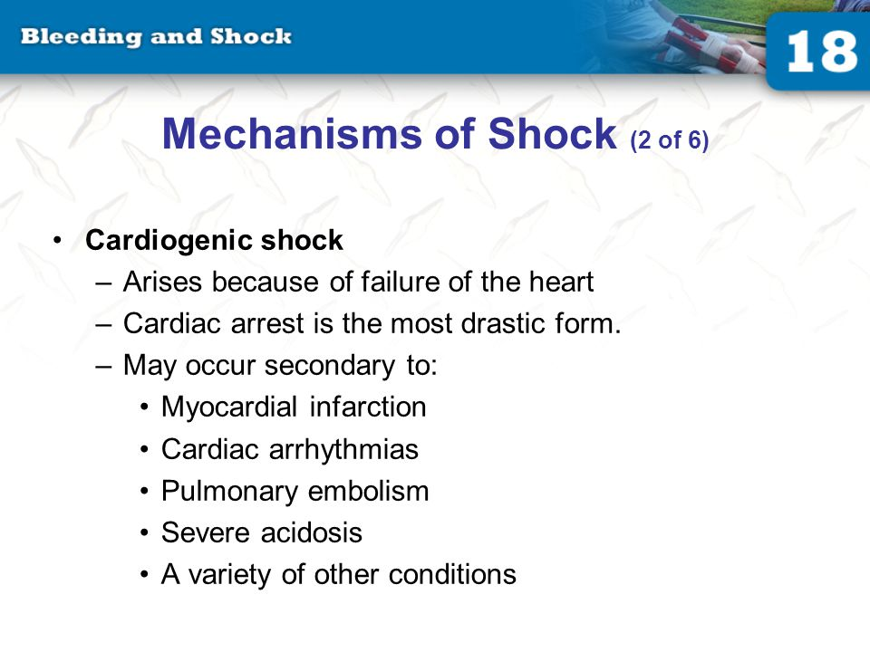 Mechanisms of Shock (3 of 6)