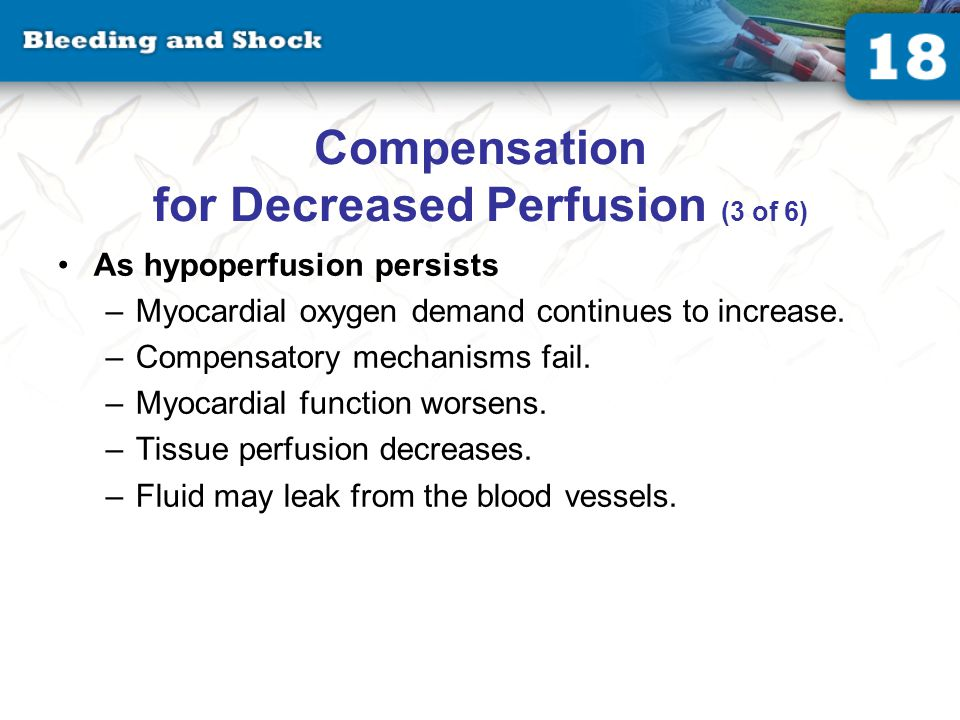Compensation for Decreased Perfusion (4 of 6)