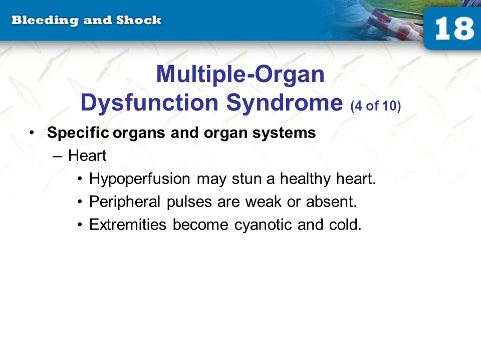 Multiple-Organ Dysfunction Syndrome (5 of 10)