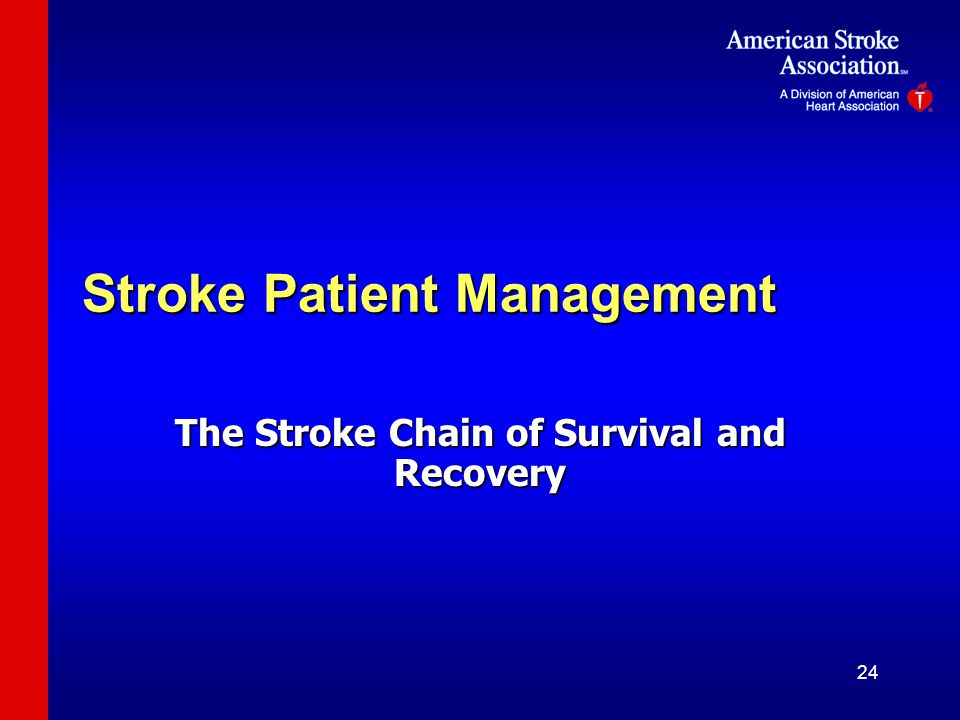 Stroke Patient Management