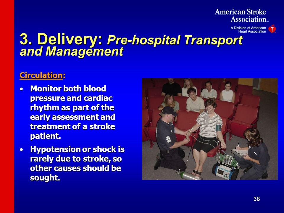 3. Delivery: Pre-hospital Transport and Management