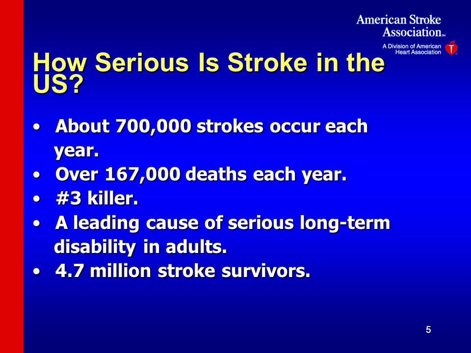 How Serious Is Stroke in the US