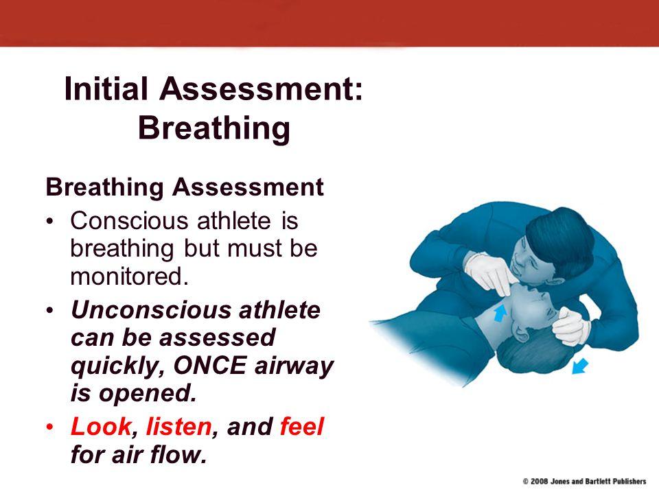 Initial Assessment: Breathing