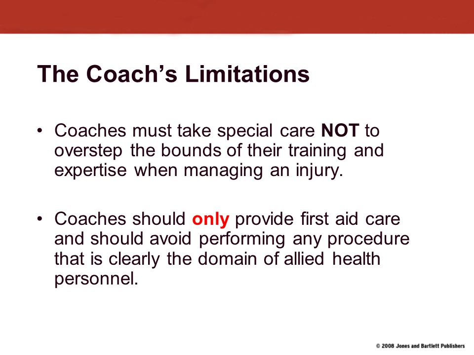 The Coach's Limitations
