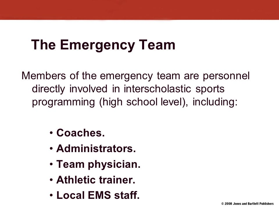 The Emergency Team