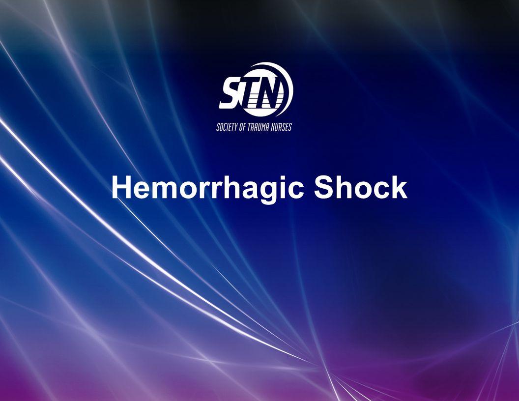 4_Hemorrhagic Shock Hemorrhagic Shock STN E-Library 2012