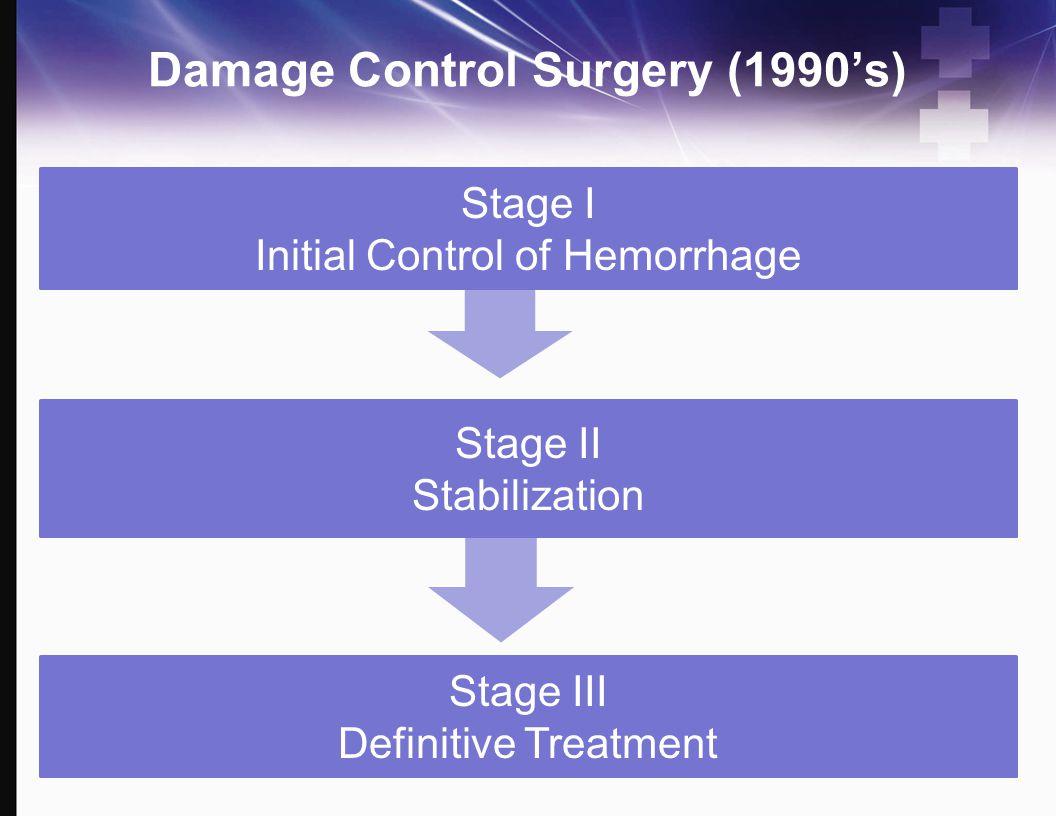 Damage Control Surgery (1990's)