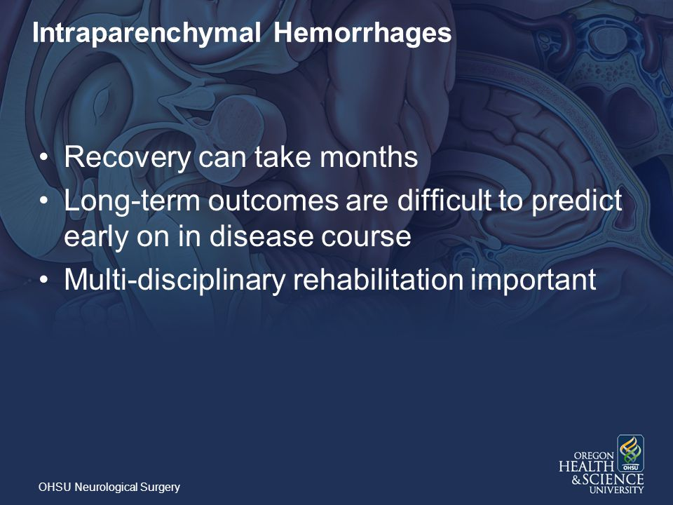 Intraparenchymal Hemorrhages