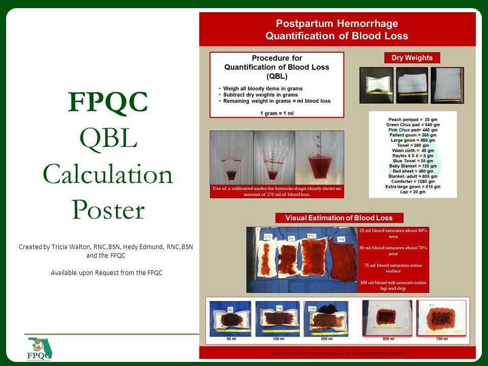 FPQC QBL Calculation Poster