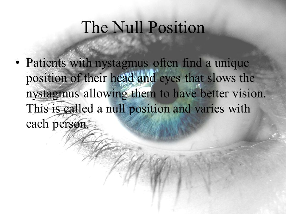 The Null Position