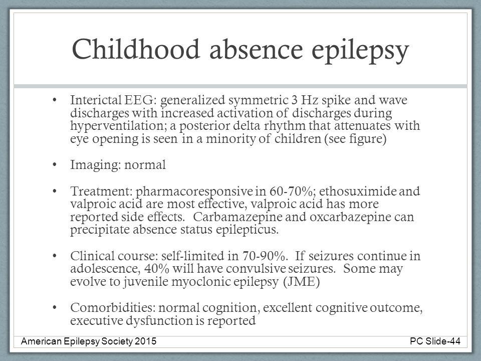 Childhood absence epilepsy
